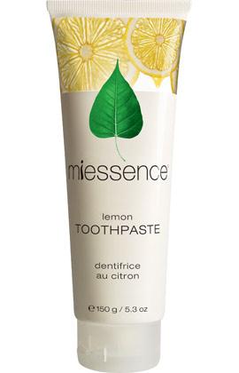 miessence lemon toothpaste